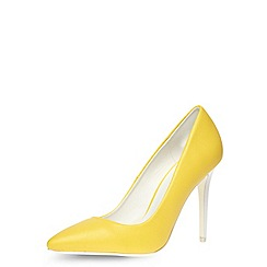 Dorothy Perkins - Yellow high pointed court