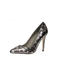 Dorothy Perkins - Pewter star high pointed court