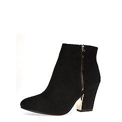Dorothy Perkins - Black 'lyndsey' heeled boots