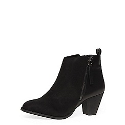 Dorothy Perkins - Black western ankle boots