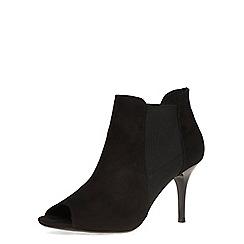 Dorothy Perkins - Black 'leigh' peep toe boots