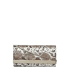 Dorothy Perkins - Snake effect clutch bag