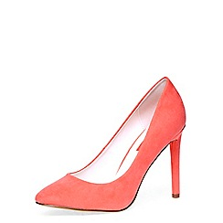 Dorothy Perkins - Coral almond toe courts