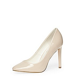 Dorothy Perkins - Nude high almond toe court