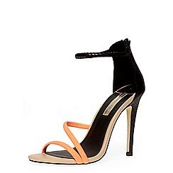Dorothy Perkins - Black tube minimal sandals