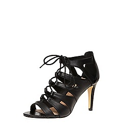 Dorothy Perkins - Black lace up high sandals