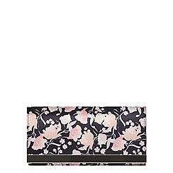 Dorothy Perkins - Dark floral print clutch bag