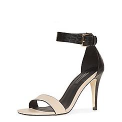 Dorothy Perkins - Nude minimal ankle sandals