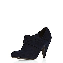 Dorothy Perkins - Navy 'lockie' shoe boots
