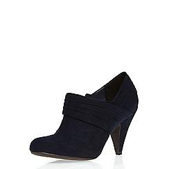 Dorothy Perkins - Navy 'lockie' shoe boots