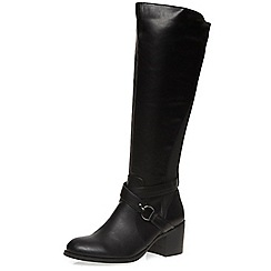 Dorothy Perkins - Black 'koko' knee boots