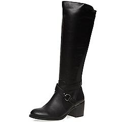 Dorothy Perkins - Black 'koko' knee boots