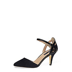 Dorothy Perkins - Navy cut out mid height courts