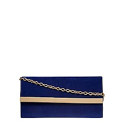 Dorothy Perkins - Cobalt clutch bag