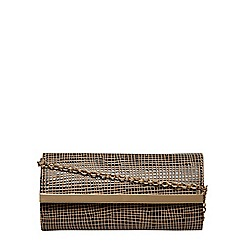 Dorothy Perkins - Nude clutch bag