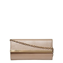 Dorothy Perkins - Bronze clutch bag