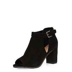 Dorothy Perkins - Black peeptoe shoe boots