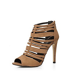 Dorothy Perkins - Taupe 'sophie' caged sandals