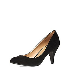 Dorothy Perkins - Black round toe courts