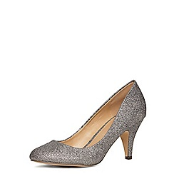 Dorothy Perkins - Pewter 'casey' round toe court shoes