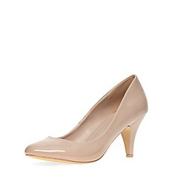 Dorothy Perkins - Nude  round toe courts