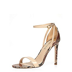 Dorothy Perkins - Nude 'simone' sandals