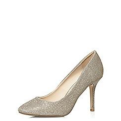 Dorothy Perkins - Silver 'ezme' court shoes