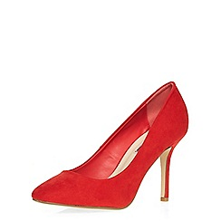 Dorothy Perkins - Red 'ezme' court shoes