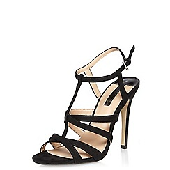 Dorothy Perkins - Black 'bexi' strappy sandals