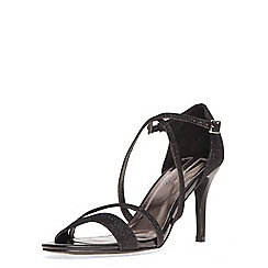 Dorothy Perkins - Black 'blitz' sandals