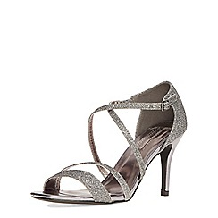 Dorothy Perkins - Pewter 'blitz' sandals