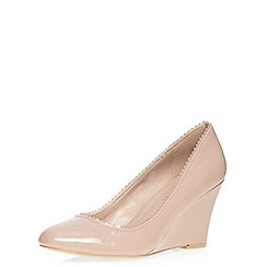 Dorothy Perkins - Nude 'diana' wedges