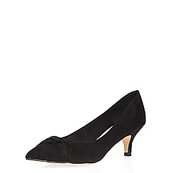 Dorothy Perkins - Black 'dhala' swish courts