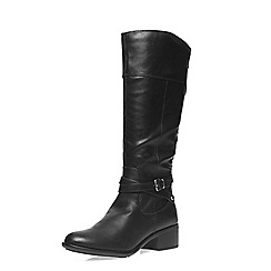 Dorothy Perkins - Black 'tabbie' riding boots