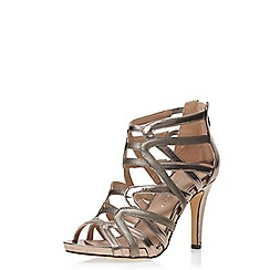 Dorothy Perkins - Pewter 'sara' high sandals