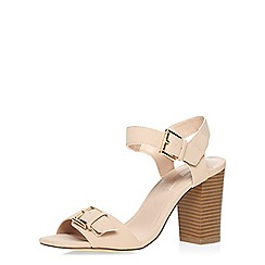 Dorothy Perkins - Blush block heel sandals