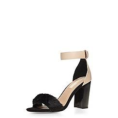 Dorothy Perkins - Nude 'silk' sandals