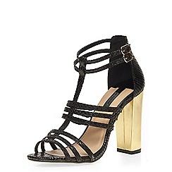 Dorothy Perkins - Black 'saskia' strappy sandals