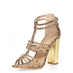 Dorothy Perkins - Nude 'saskia' strappy sandals