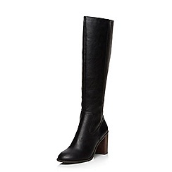 Dorothy Perkins - Black 'kirsty' knee boots