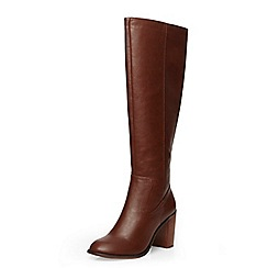 Dorothy Perkins - Tan 'kirsty' knee high boots