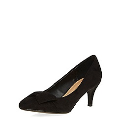 Dorothy Perkins - Black mid height court shoes