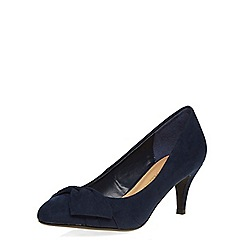 Dorothy Perkins - Navy mid height court shoes