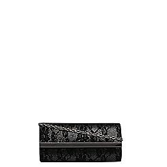 Dorothy Perkins - Black lace brit bag