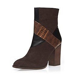 Dorothy Perkins - Patchwork 'lee' heeled boots