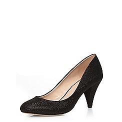 Dorothy Perkins - Black 'cava' mid court shoes