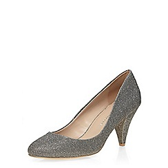 Dorothy Perkins - Pewter 'cava' mid court shoes