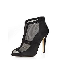 Dorothy Perkins - Black legend mesh shoe boots