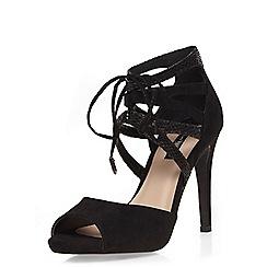 Dorothy Perkins - Black 'gosh' heeled sandals