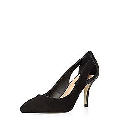 Dorothy Perkins - Black dally cut out court shoes